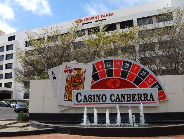 The Canberra Casino and Crowne Plaza are on the City Walk