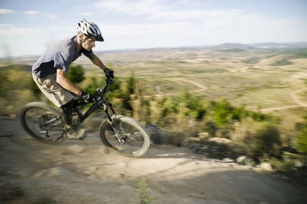 Mountain Biking in Stromlo Forest Park, Australian Capital Territory - Photo: Paul Foley