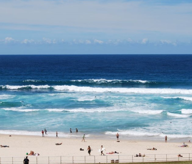 Great Views of the Ocean and Beach at the Bondi Places to Eat