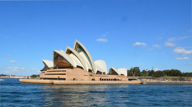 The Sydney Opera House on the Harbour