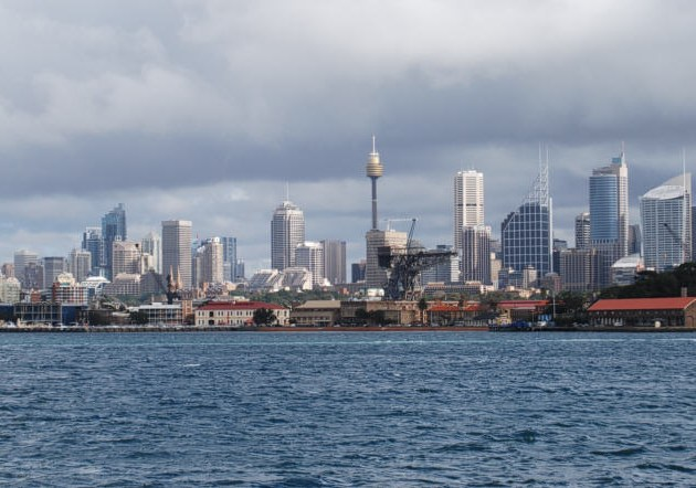 View of the City from Sydney Harbour