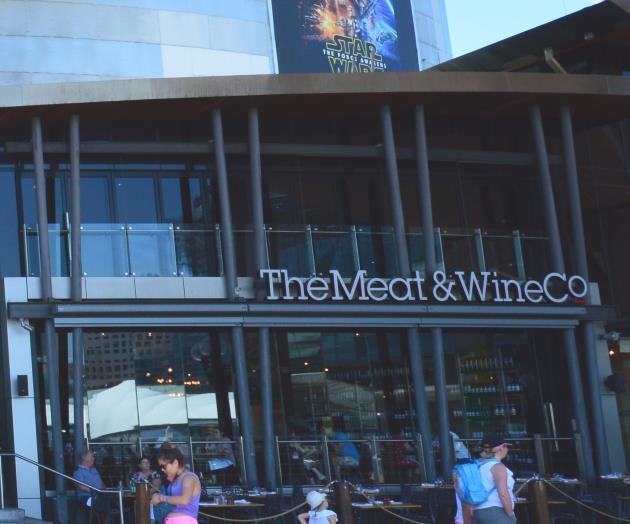 Meat & Wine Co, Bangaroo