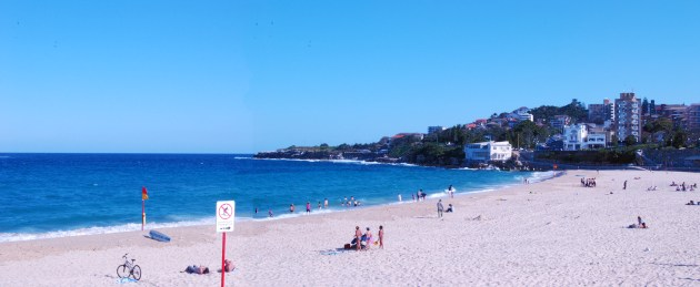 Beach at Coogee Looking South