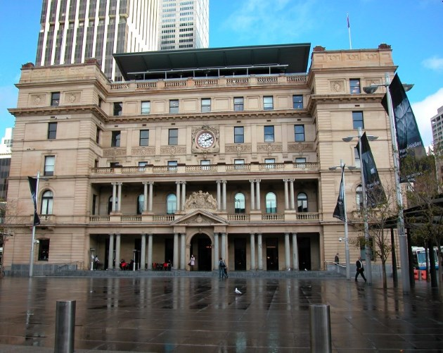 Customs House, where the British flag was first planted in 1788