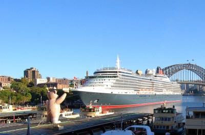 Australia Cruises - Queen Victoria in Sydney