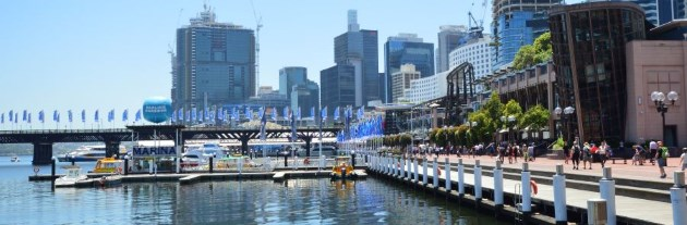 Darling Harbour has numerous Places to Eat and Drink