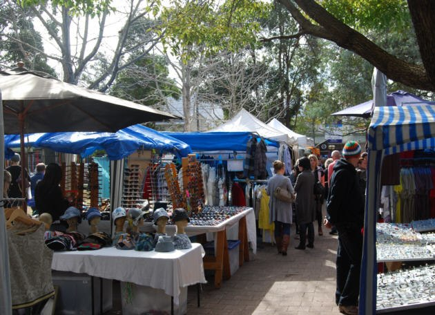 Saturday Markets under the Trees
