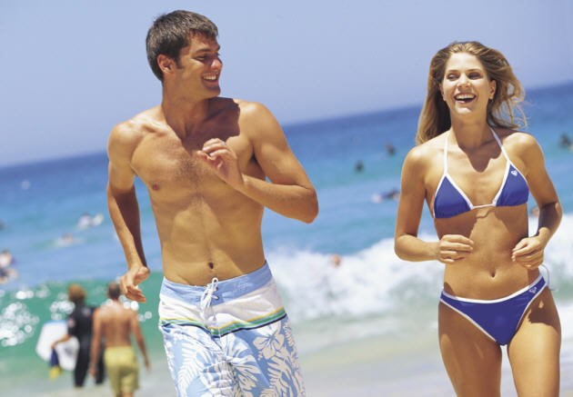 Sydney Beach locations, try Bondi, Coogee, Manly or the Cronulla Beaches.