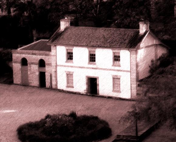 Cadmans Cottage at the Rocks - oldest cottage in Australia