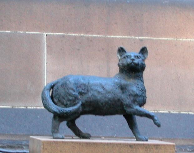 Trim, a Cat Extraordinaire. To date, Australia's most famous Feline.