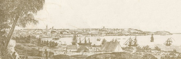 Sydney Cove and The Rocks 1807