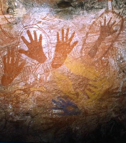Ancient Hand Prints