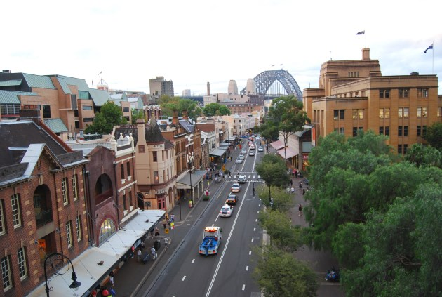 The Rocks, situated in the north west of the Inner City