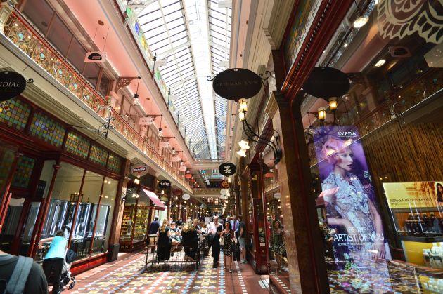 The historic Strand Arcade in the Inner Sydney Centre (Pendolino Level 2)