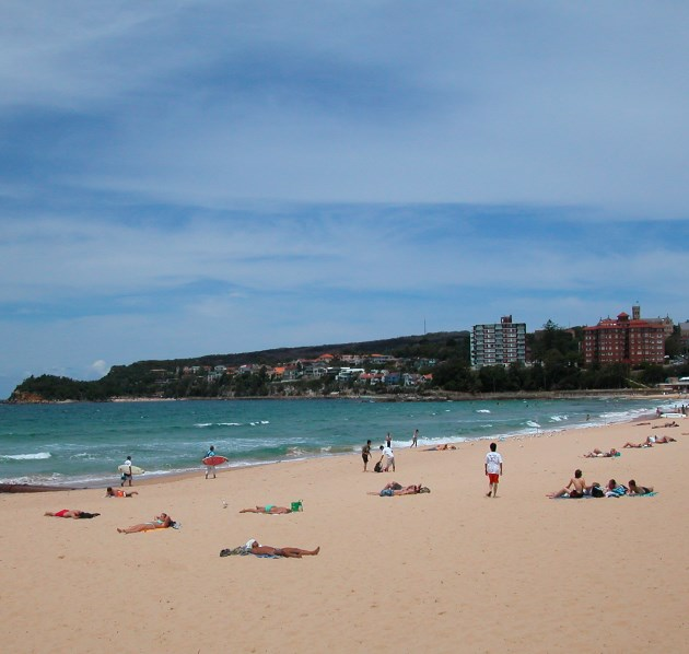 Manly Beach has Scenic Walks along the Waterfront