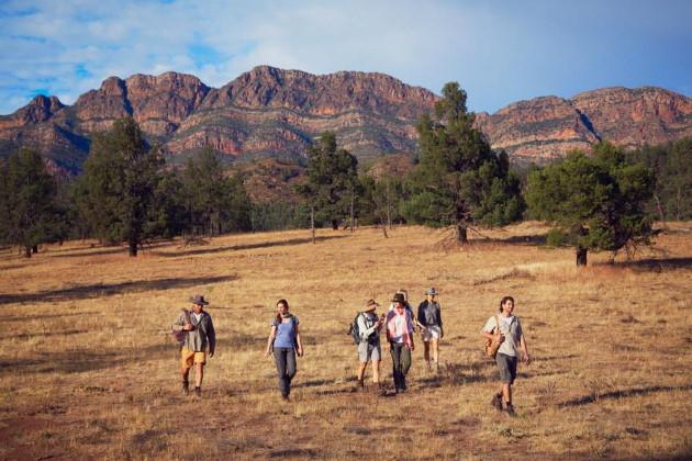 On the Arkaba Walk, Ruger's Hill, Flinders Ranges National Park, South Australia. Photographer: Hugh Stewart