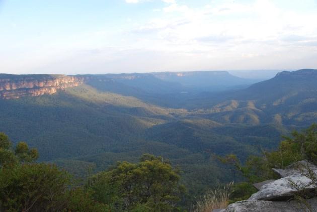 Australian World Heritage Site: Greater Blue Mountains Area