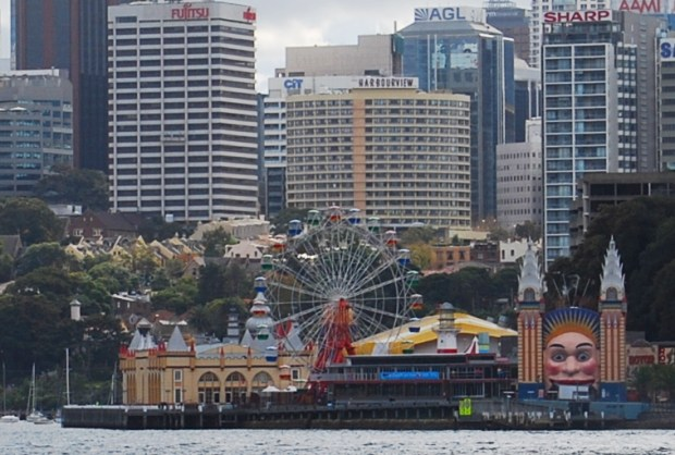 Luna Park and North Sydney
