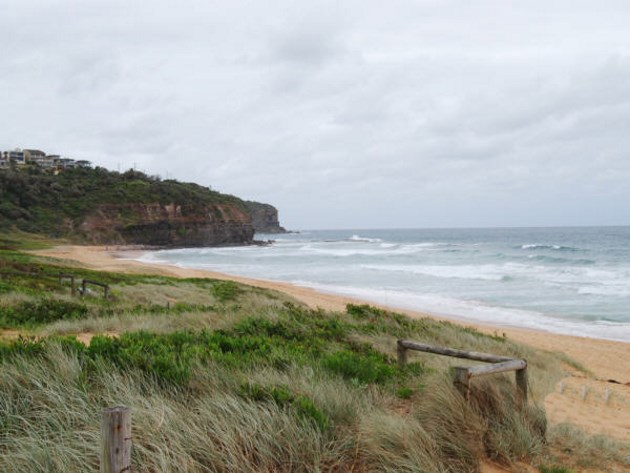 Bilgola Beach on the Northern Beaches of Sydney, NSW