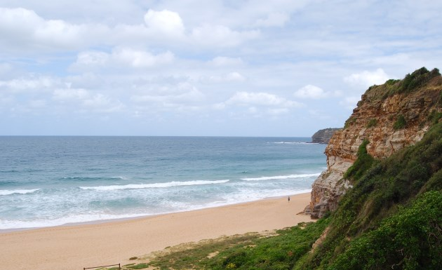 The south end of Warriewood Beach, Sydney NSW