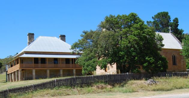 Historical Hartley Village in the Surrounds of Lithgow.