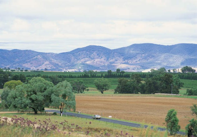 Sampling Mudgee wines in the countryside can be a relaxing way to spend an afternoon