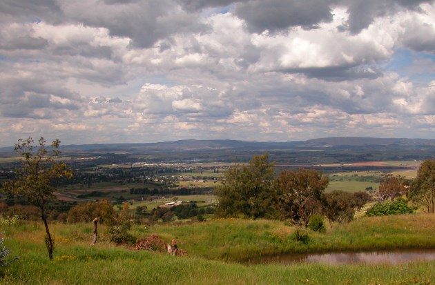 The Central Tablelands of NSW, showing Bathurst