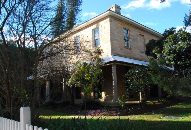 Historical Homes and Estates of Macquarie NSW