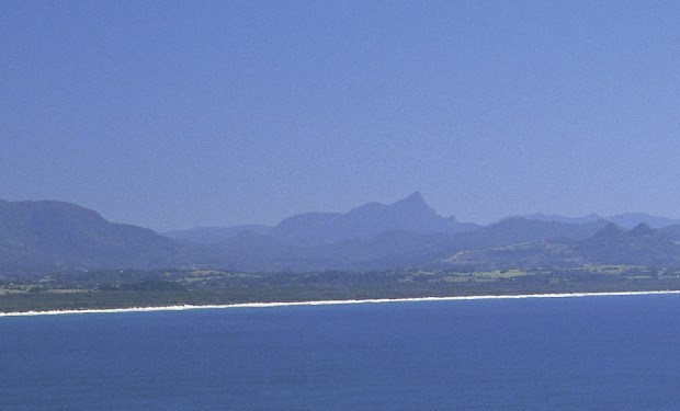 Mount Warning (1156m) on the Coast of Northern Rivers