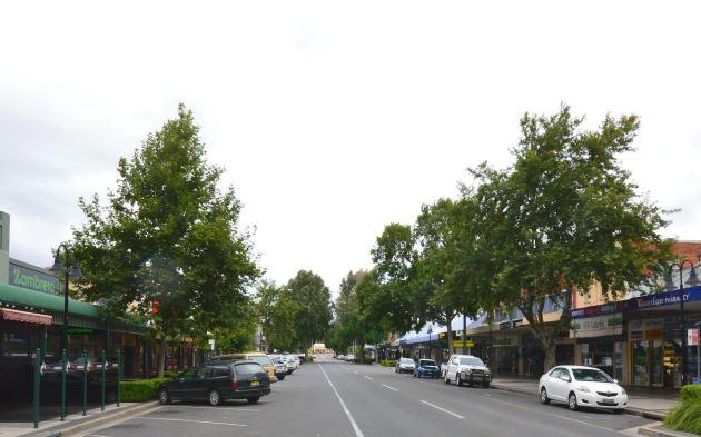 Main Street of Wagga Wagga, NSW