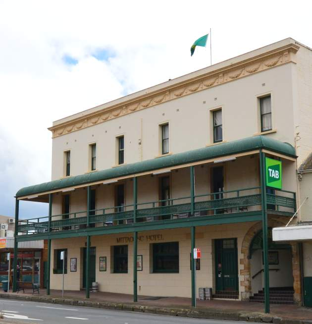 The Historical Mittagong Pub, known for its craft beers and Mexican Cuisine