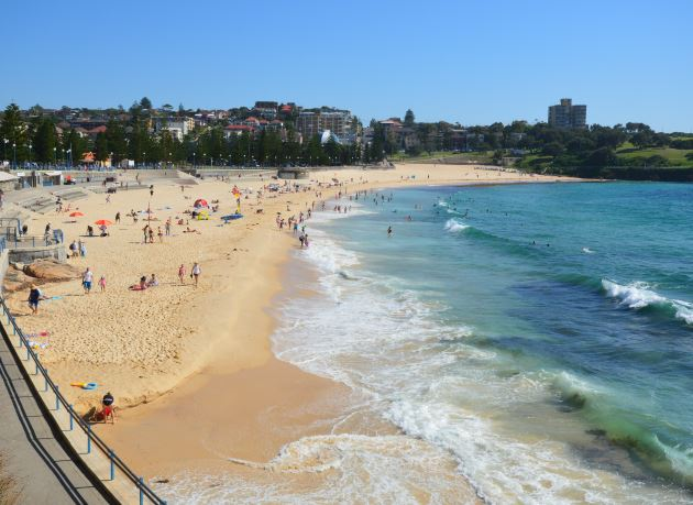 On the Coast of the Sydney Region: Coogee