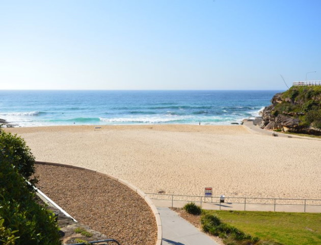 Tamarama Beach, with its park and sand, great for a Day Out
