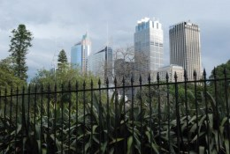 Gardens view of the City