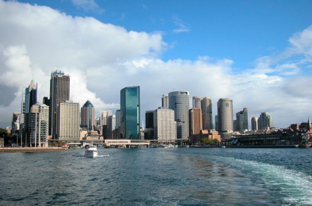 Sydney Cove on the Harbour
