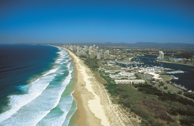 42km of beautiful sandy beaches, Gold Coast Queensland