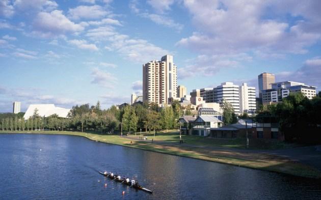 Adelaide, Torrens River