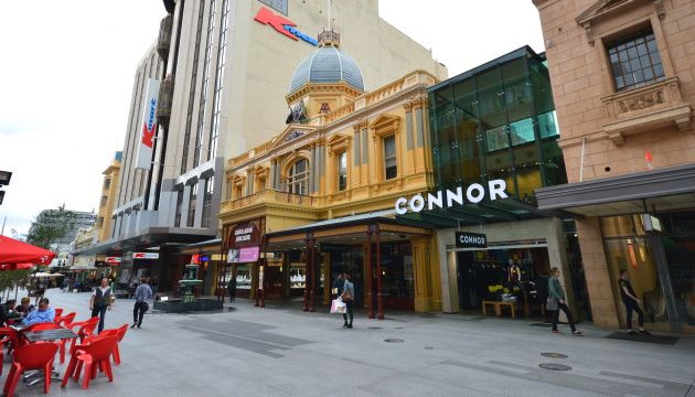 Adelaide Arcade on Rundle Mall