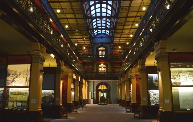 Interior of the Mortlock Wing, State Library