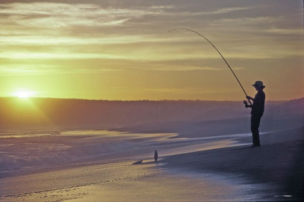 Fishing on the Eyre Peninsula, South Australia
