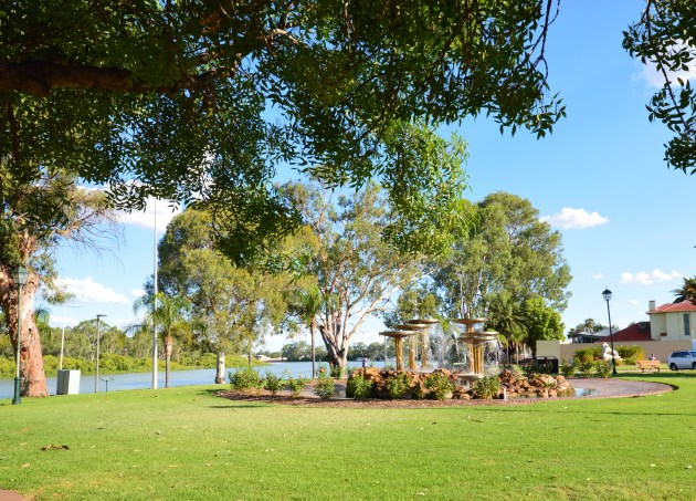 Scenic Renmark and the Murray River