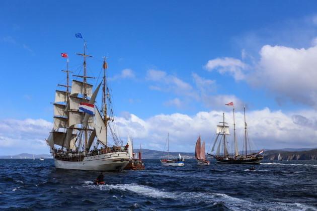 Talls Ships Festival, Hobart Tasmania. Credit Tourism Australia, Photographer: Graham Freeman