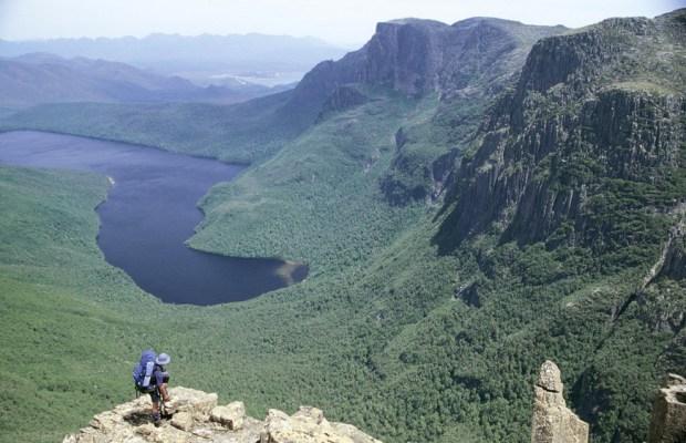 Lake Judd in Tasmania, Southwest National Park