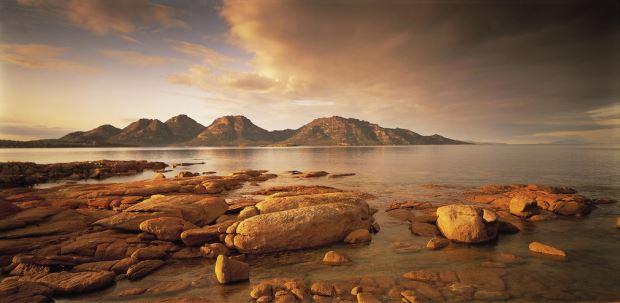 The East Coast of Tasmania has stunning Ocean Vistas - Freycinet Peninsula