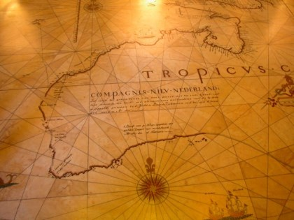 About Australia History - Early Dutch Map