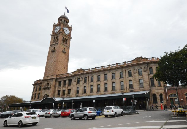Sydney Central Station - View from Broadway