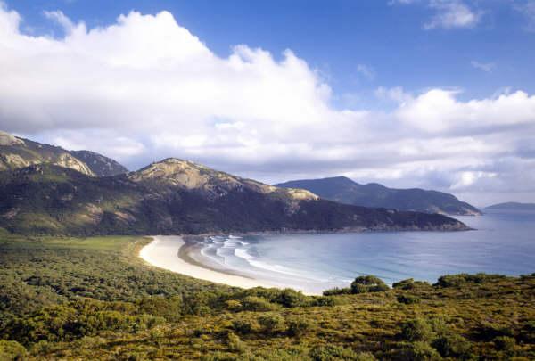 Wilsons Promontory Beach. Photographer Hamish Ta-me - Australia Tourism Copyright.