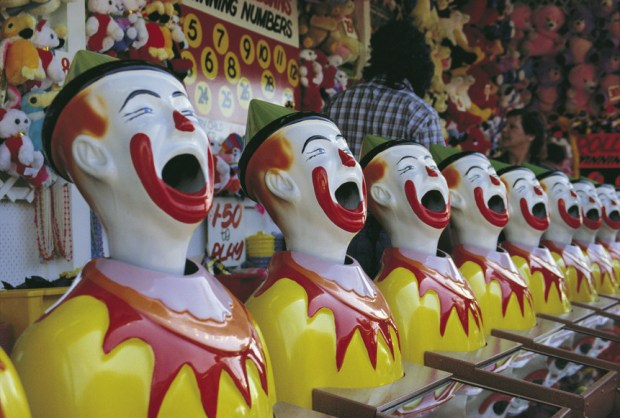 Fun at Luna Park, Melbourne