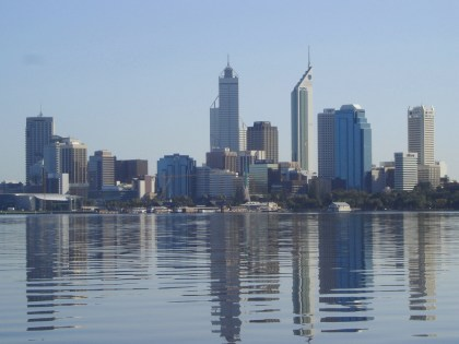 Perth Australia on the Waters